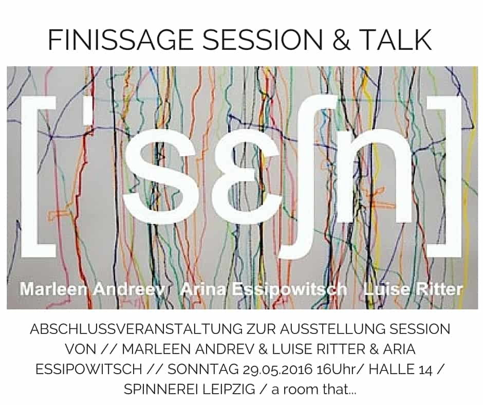 FINISSAGE SESSION & TALK